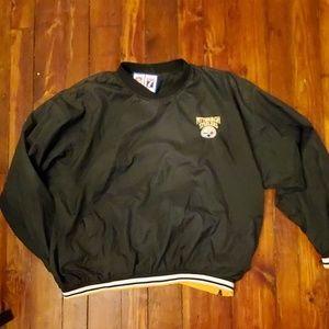 Vintage Steelers Pullover Warmup Jacket XXL
